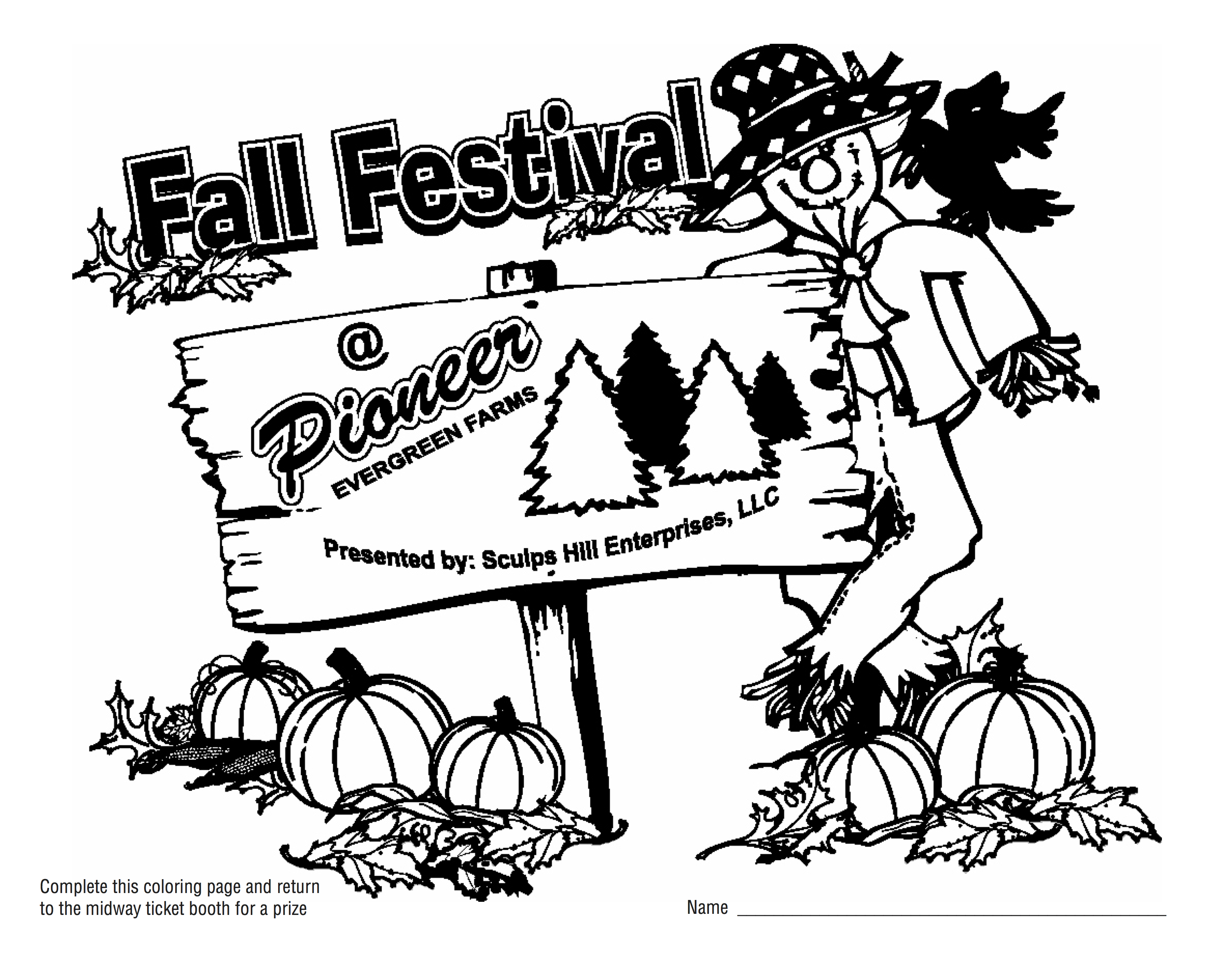 fall festival coloring pages fall festival coloring pages pioneer evergreen farms