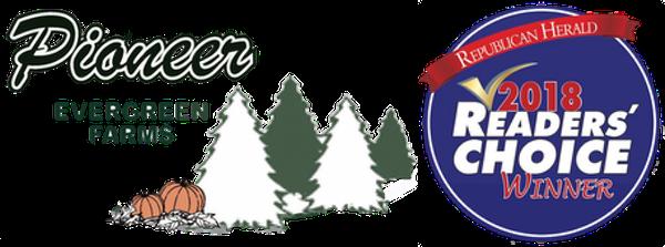 Pioneer Evergreen Farms Logo