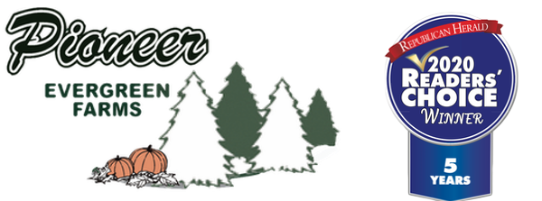 Pioneer Evergreen Farms Logo
